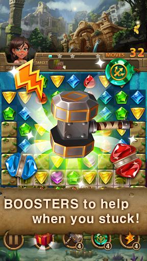 Jewels Atlantis: Match-3 Puzzle matching game hack tool
