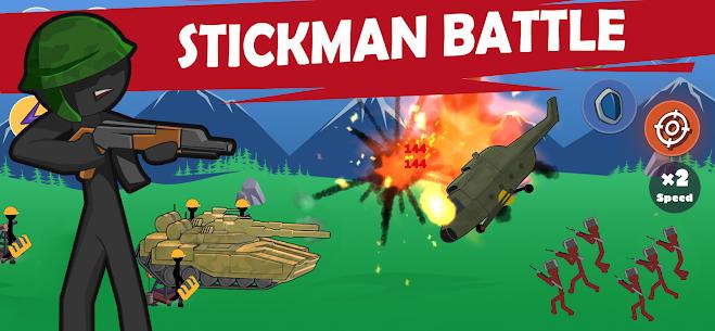 Stickman World War MOD Apk 1.02 (Free Shopping) 1