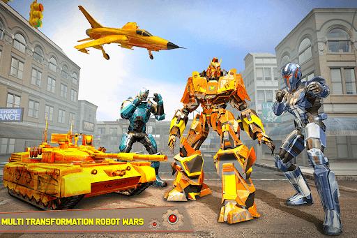Tank Robot Car Games - Multi Robot Transformation screenshots 5
