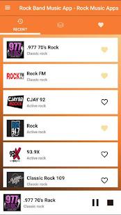 Rock Band Music App - Rock Music Apps