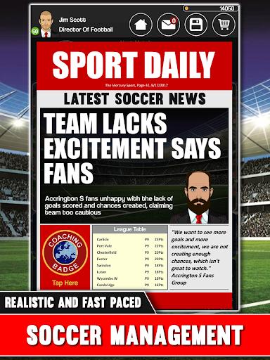 Club Soccer Director - Soccer Club Manager Sim 2.0.8e screenshots 23