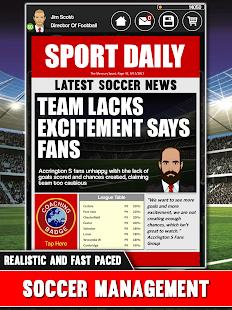 Club Soccer Director - Soccer Club Manager Sim screenshots 15