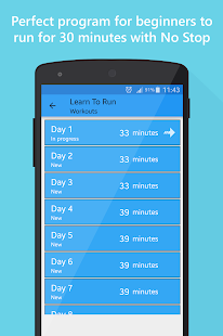 Learn to run