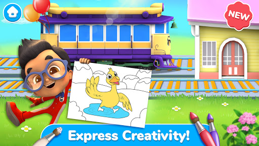 Mighty Express - Play & Learn with Train Friends android2mod screenshots 1
