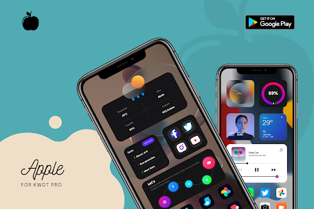 Apple for KWGT APK 2.0 [Paid] Download for Android 1