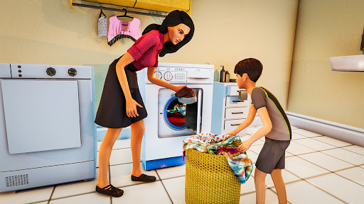 Real Mother Life Simulator- Happy Family Games 3D  Pc-softi 4