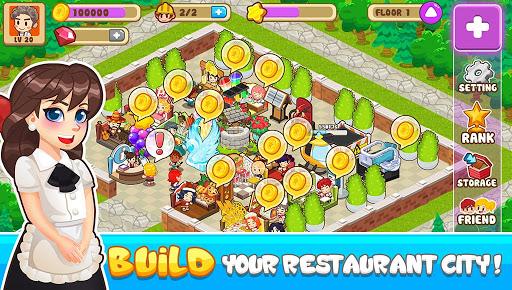 Code Triche jeu de restaurant - jeu de café restaurant magnat (Astuce) APK MOD screenshots 1