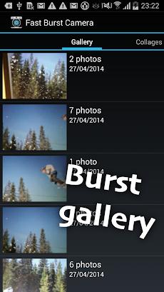 Fast Burst Camera liteのおすすめ画像4