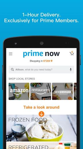 Amazon Prime Now modavailable screenshots 1