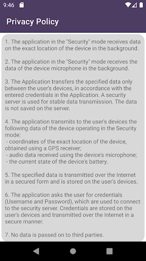 Remote car security screenshot 2