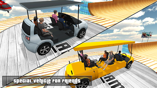 Biggest Mega Ramp With Friends - Car Games 3D 1.13 screenshots 2