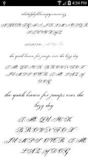 Fonts for FlipFont 50 11 Screenshot