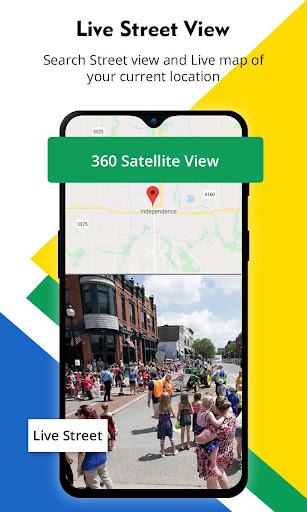 Street View - Live Earth Map , GPS Navigation 2.7 Screenshots 2