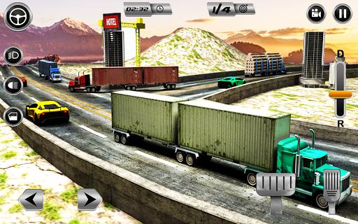 Euro Long Trailer Truck Sim 2021: Cargo Transport 2.4 screenshots 3