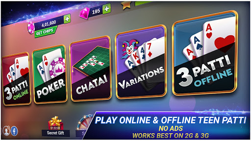 Teen Patti Royal - 3 Patti Online & Offline Game 4.4.4 screenshots 2