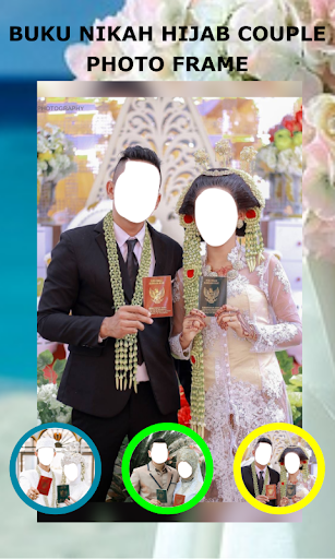 Book Wedding Hijab Couple Photo Frame 1.3 Screenshots 3