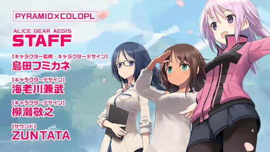 アリス・ギア・アイギス MOD APK 1.44.0 (God Mode, OneHit) 9