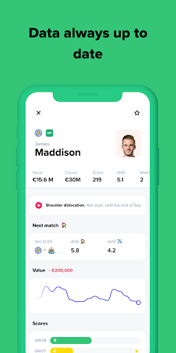 Bemanager - Be a Soccer Manager 2.69.0 screenshots 5