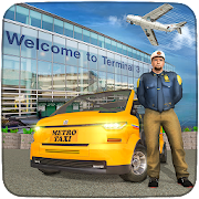 Modern Taxi Driving Game: City Airport Taxi Games