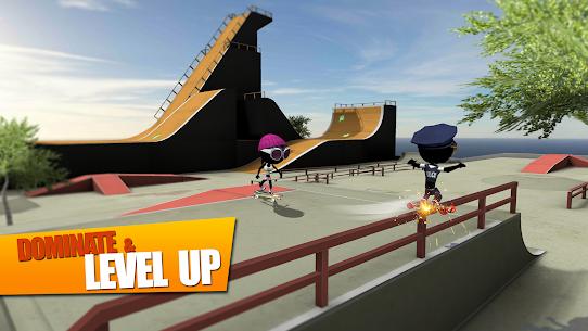 Stickman Skate Battle MOD APK (Unlimited Money) 2