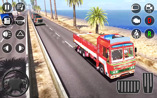 American Cargo Truck Game - New Driving Simulator 1.6 Screenshots 8