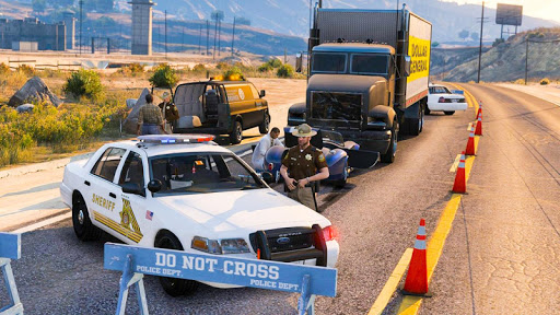 Police Cop Chase Racing: City Crime android2mod screenshots 5