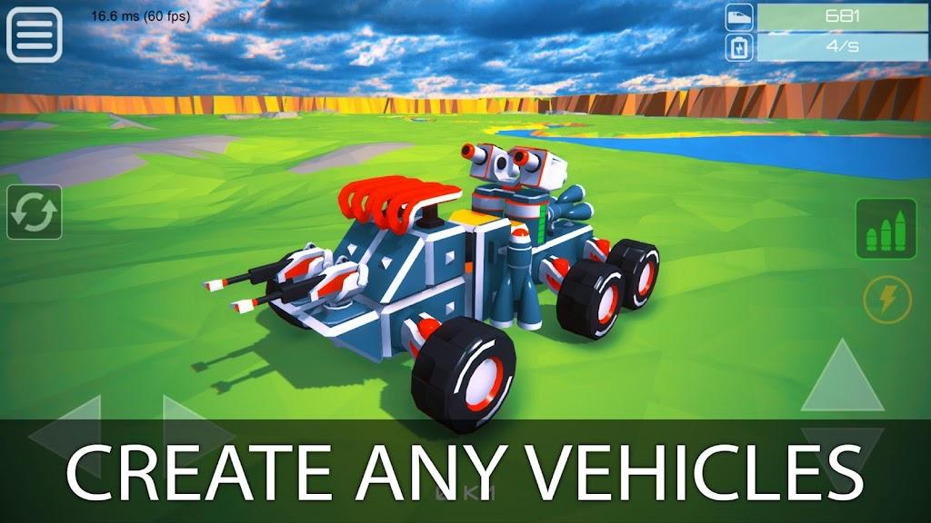 Block Tech : Tank Sandbox Craft Simulator Online  poster 5