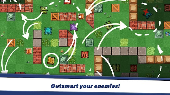 Awesome Tanks Mod Apk 1.312 (Unlimited Money) 2