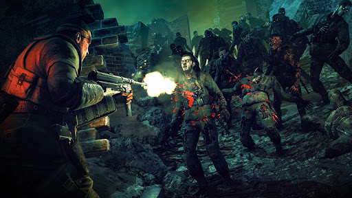 Survival Zombie Games 3D : Free Shooting Games FPS apkslow screenshots 14
