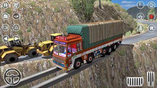 Indian Truck Cargo Game 2021 Real Truck Games 1.0 screenshots 4