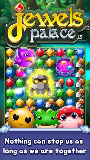 Jewels Palace: World match 3 puzzle master apkslow screenshots 4