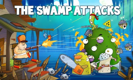 Swamp Attack 2 MOD (Unlimited Coins) 1