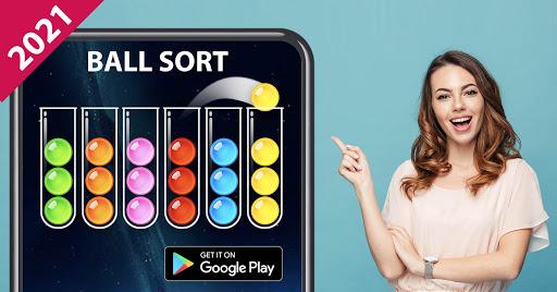 Ball Sort Puzzle - Color Sorting Balls Puzzle 1.1.0 screenshots 7