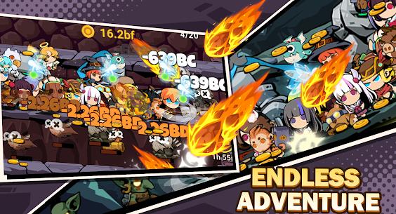 Tap Dungeon Hero MOD APK (Unlocked All Members) Download 3