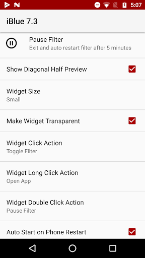 Bluelight Filter 7.3.3 Screenshots 2