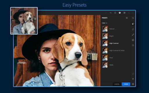 Adobe Lightroom - Photo Editor & Pro Camera 6.1.0 screenshots 2