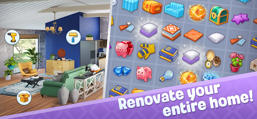 Merge Design: Home Renovation & Mansion Makeover androidhappy screenshots 2