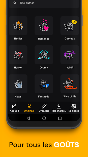 Captura 5 de Webtoon Factory para android