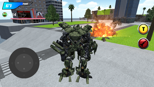 x ray robot : zombie offroad screenshot 2