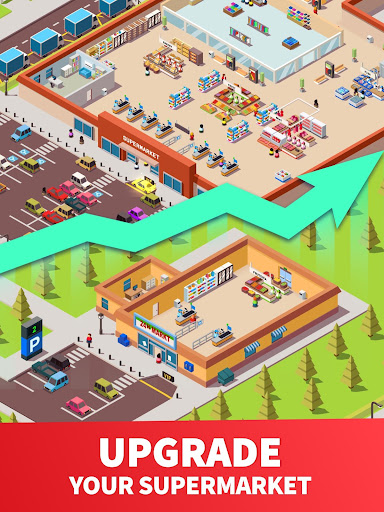 Idle Supermarket Tycoon - Tiny Shop Game 2.3.1 screenshots 9