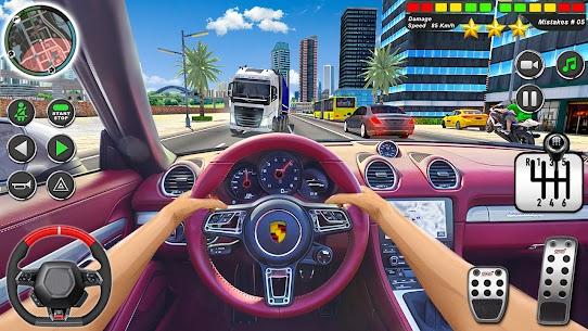 Kent sürme okul simülatör araba otopark Apk İndir 2