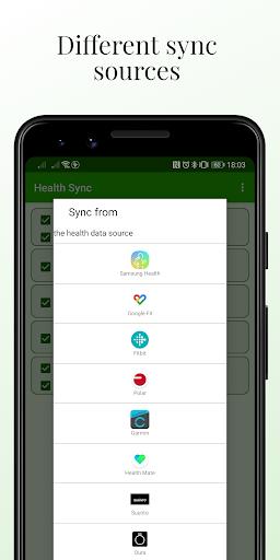 Health Sync 7.0.0 Screenshots 2