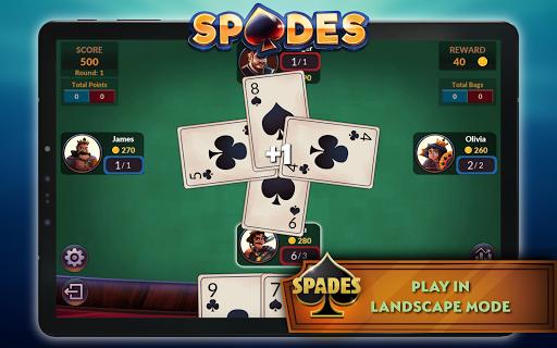 Spades - Offline Free Card Games android2mod screenshots 13