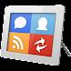 ソーシャルフレーム (スライドショー) - Androidアプリ