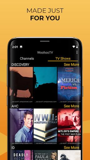 Foto do Free TV, Free Movies, Free Cable Stream WooHooTV