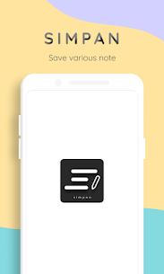 Simpan – Note various needs (MOD, Paid) v1.4.1 1