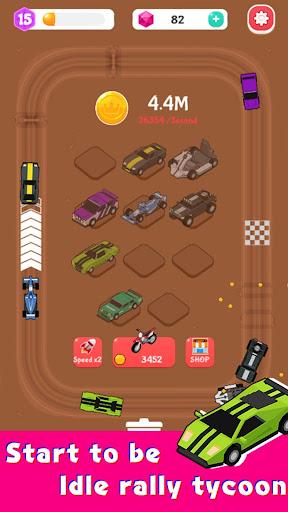 Merge Car Racer - Idle Rally Empire  screenshots 15