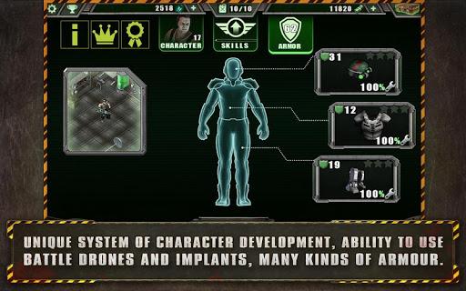 Alien Shooter Free - Isometric Alien Invasion Apkfinish screenshots 6
