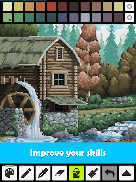 Pixel Studio - Pixel art editor, GIF animation  poster 13