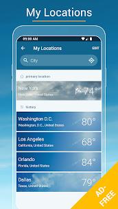 Weather & Radar USA – Ad-Free MOD APK 4